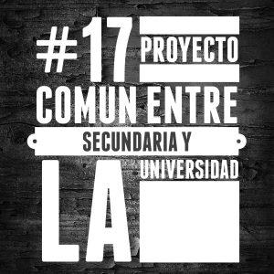 #17 Proyecto común entre secundaria y la universidad
